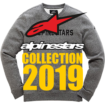 ÉQUIPEMENTS/VÊTEMENTS - COLLECTION ALPINESTARS 2019