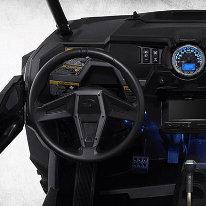 Cockpit et benne